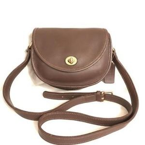 Vintage Coach Taupe Watson #9981 Crossbody